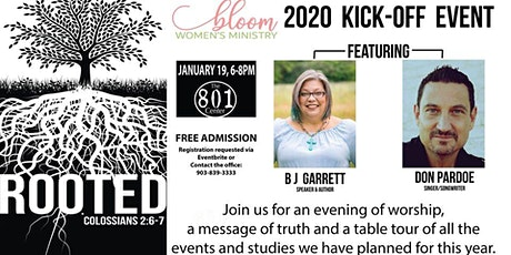 ROOTED: 2020 Women's Ministry Annual Kick-Off tickets