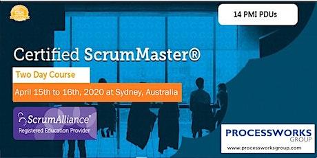 Certified ScrumMaster® (CSM) [2 Days Certification Course] tickets