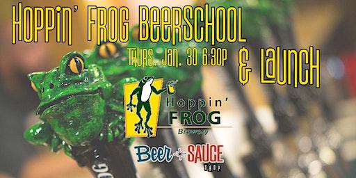 Hoppin Frog Release and Beer School