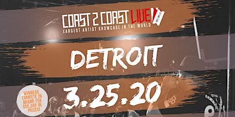 Coast 2 Coast LIVE Showcase Detroit - Artists Win $50K In Prizes! tickets