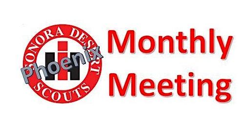 Sonora Desert Scouts Phoenix Monthly Meeting