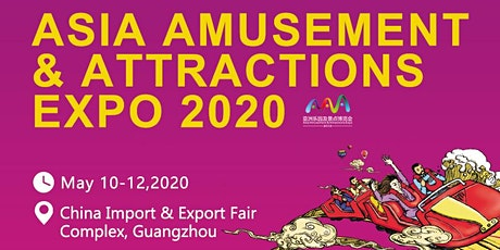 Asia Amusement & Attractions Expo 2020 tickets