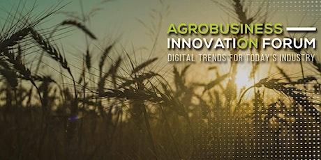 Agrobusiness Innovation Forum 2020 entradas