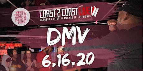 Coast 2 Coast LIVE Showcase DMV - Artists Win $50K In Prizes tickets