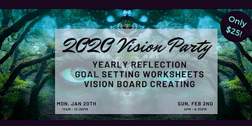 2020 Vision Party-January