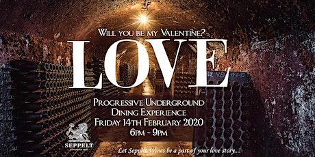 Seppelt Underground Valentines Dining tickets
