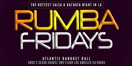 Rumba Fridays Salsa Social tickets