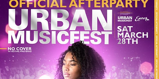 UMF After-Party 3.28 | R&B, Hip-Hop, Reggae