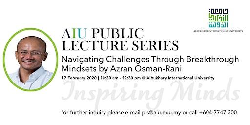 AIU Public Lecture Series 1