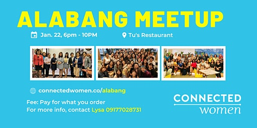 #ConnectedWomen Meetup - Alabang (PH) - January 22
