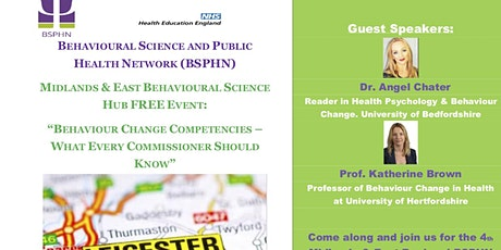 """Behaviour Change Competencies  - What every Commissioner should know"" tickets"
