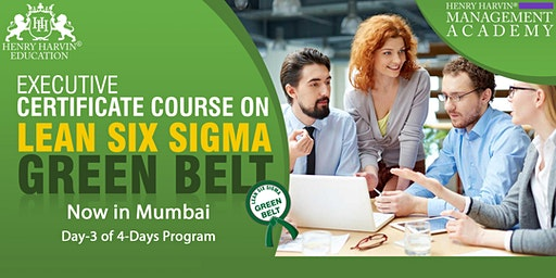 Day-3 Lean Six Sigma Green Belt Course in Mumbai