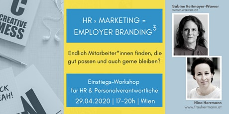 HR x Marketing = Employer Branding³ tickets
