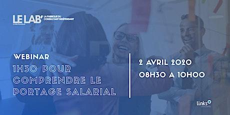 1h30 pour comprendre le portage salarial #Lille  Links Consultants tickets