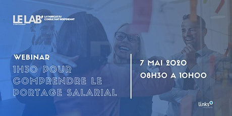 1h30 pour comprendre le portage salarial #Lille | Links Consultants tickets