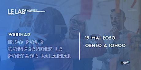 1h30 pour comprendre le portage salarial #Lille | Links Consultants tickets