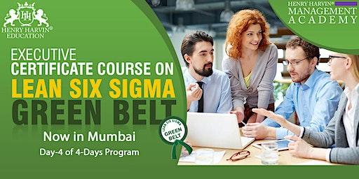 Day 4 Lean Six Sigma Green Belt Course in Mumbai