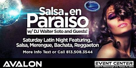 Salsa en Paraiso Latin Night Free Cover Registration! tickets