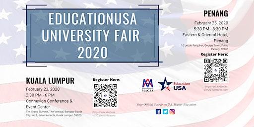 EducationUSA University Fair 2020- Kuala Lumpur
