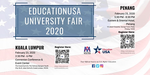 EducationUSA University Fair 2020- Penang