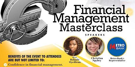 Financial Management Masterclass. tickets