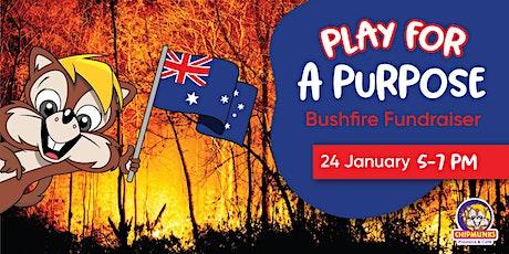 Chipmunks Wanneroo Bushfire Fundraiser tickets