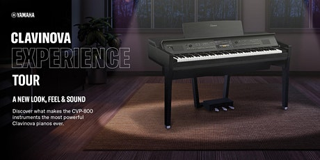 Yamaha Clavinova Experience Tour – Edinburgh, Feb. 11th tickets