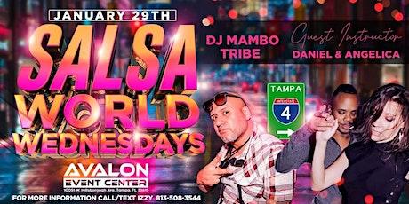 Salsa World Wednesday Latin Night! Orlando Invasion Party! tickets