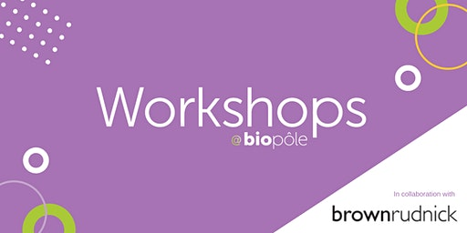 International Growth for Swiss Life Sciences Businesses - A Cross Border Perspective (Workshop)