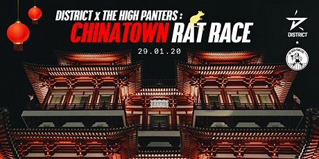 District x The High Panters: Chinatown Rat Race tickets