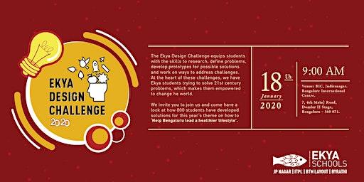Ekya Design Challenge 2020 | Helping Bengaluru Lead A Healthier Life