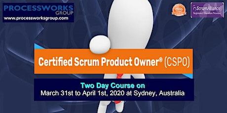 Certified Scrum Product Owner® (CSPO) [2 Days Certification Course] on 31 Mar - 01 Apr 2020 tickets