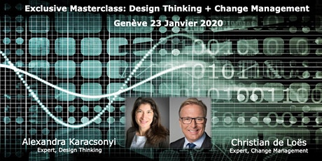 "Masterclass exclusif ""Design Thinking + Change Management"" tickets"