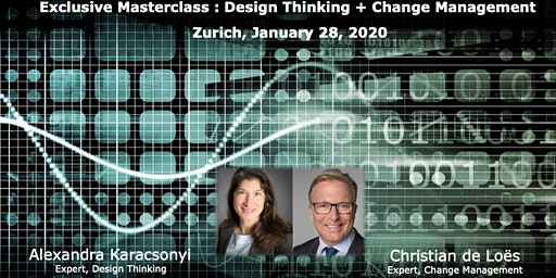 "Exclusive Masterclass ""Design Thinking & Change Management"""