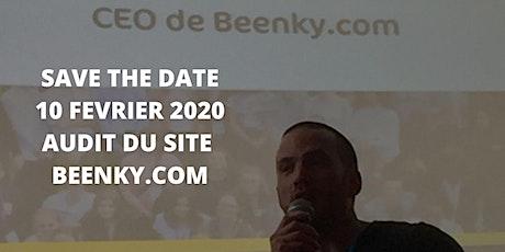 Soirée audit sur le  site Beenky billets