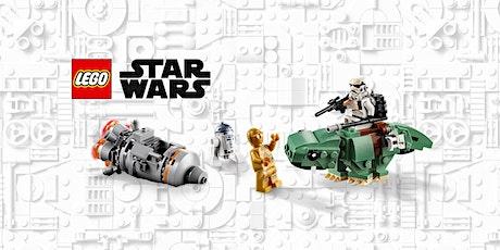 Lego Star Wars: tutti i droidi e le  astronavi dell'ascesa di Skywalker tickets