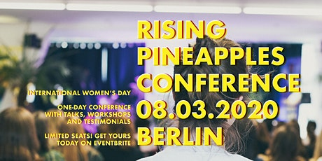 Rising Pineapples #2 - Women's Day Conference Tickets
