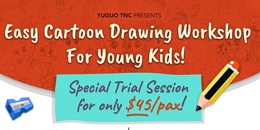 Easy Cartoon Drawing Workshop For Young Kids