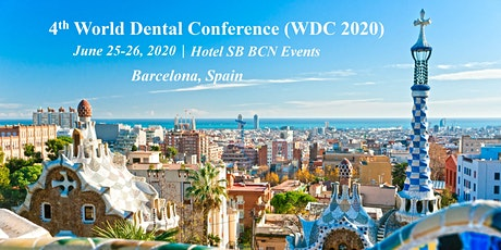 4th World Dental Conference (WDC 2020) entradas