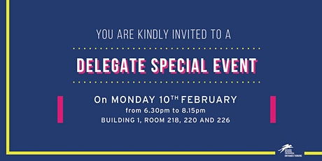 Delegate special event #2 billets
