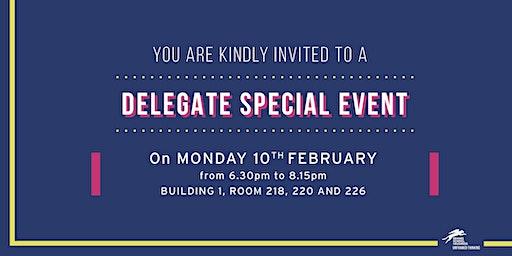 Delegate special event #2