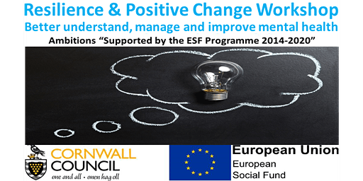 Resilience and Positive Change Workshop - taught over 5 half day sessions