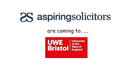 Aspiring Solicitors Commercial Awareness Workshop tickets
