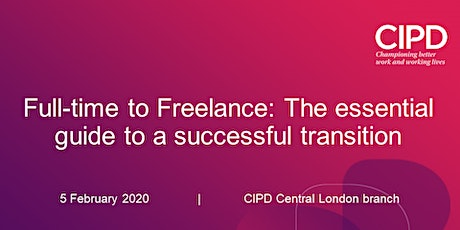 Full-time to Freelance: The essential guide to a successful transition tickets