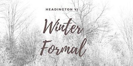 Headington VI Winter Formal tickets