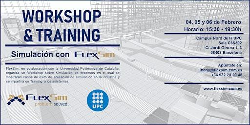 FlexSim Workshop y Training en la UPC