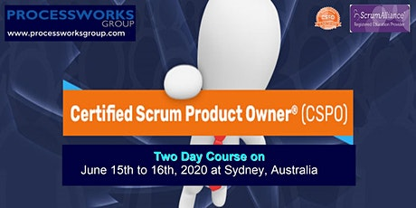 Certified Scrum Product Owner® (CSPO) [2 Days Certification Course] on 15-16 June 2020 tickets