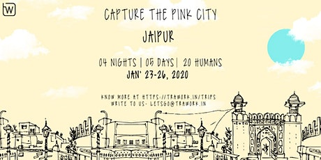 TRAWORK to EX JAIPUR (PHOTOGRAPHY TOUR) tickets