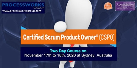 Certified Scrum Product Owner® (CSPO) [2 Days Certification Course] on 17-18 Nov 2020 tickets