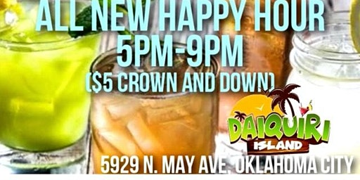 ALL-NEW HAPPY HOUR